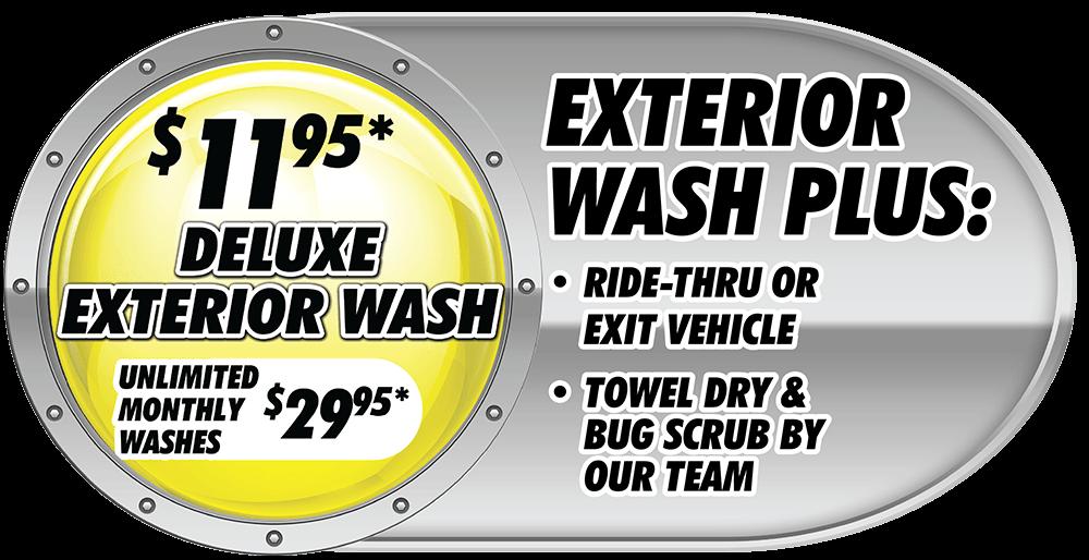 exterior wash plus